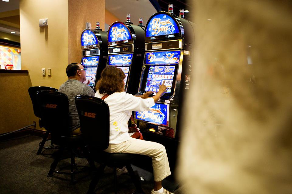 Slot Machines At Gulfstream