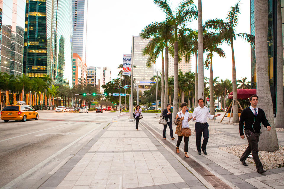 Brickell Business People