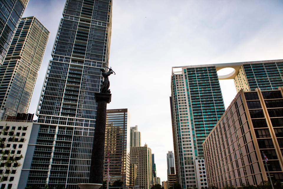 Brickell Statue