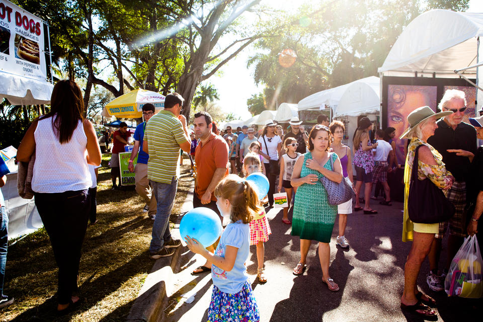 Kids At Coconut Grove Arts Festival
