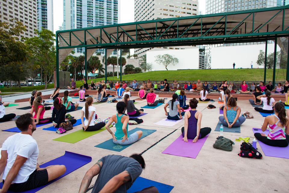 Bayfront Park Yoga