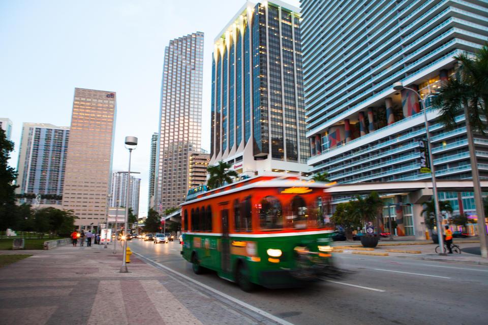 Downtown Miami Trolley