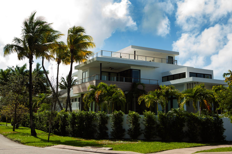 Key Biscayne Modern Home