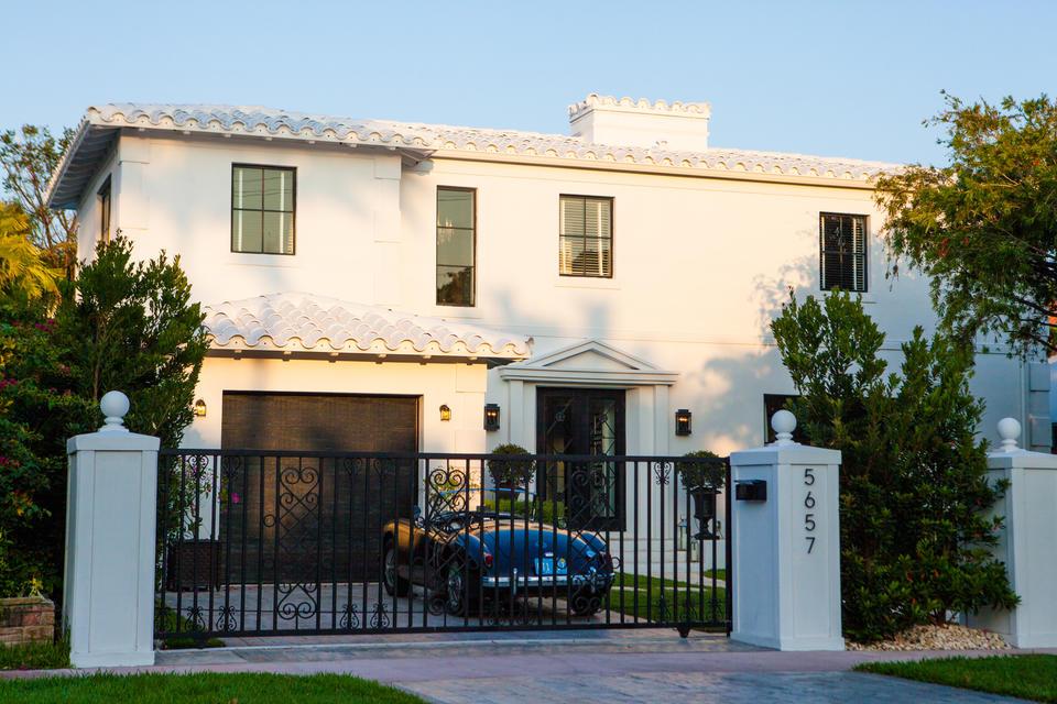 Gated Mansion