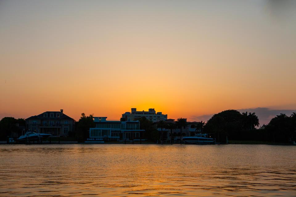 Millionaires Row Sunset