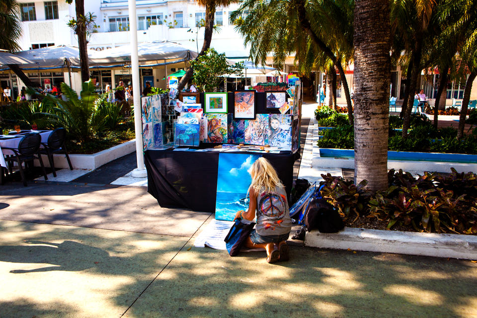 Artist On Lincoln Road